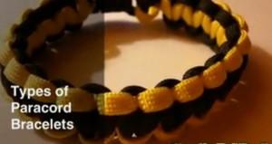 Разные браслеты из паракорда