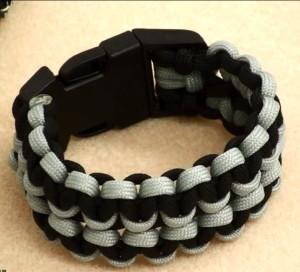 Плетение двойного браслета Cobra