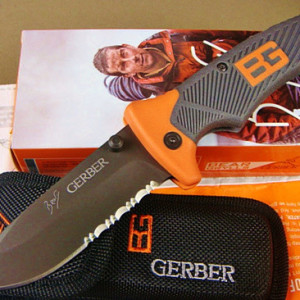 GERBER Folding Sheath Knife 3